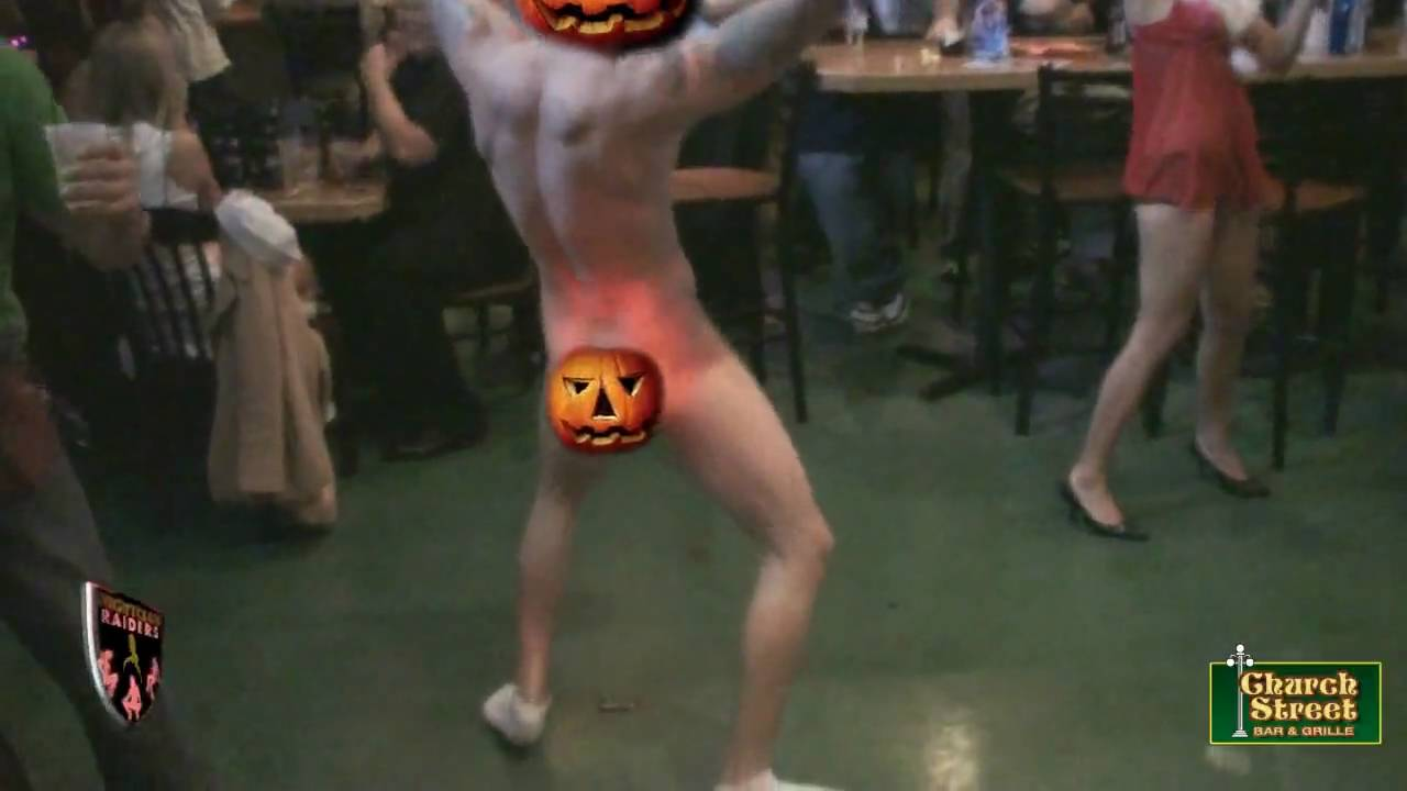 Naked Halloween Guys