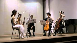 Peter Seabourne String Quintet 1st movement from the Casalmaggiore Festival