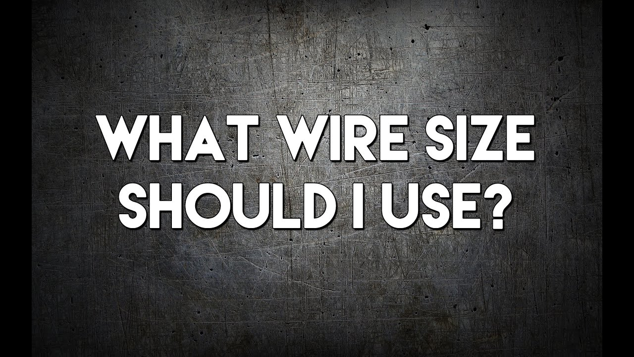 How to Choose the Best MIG Wire Size | MIG Monday - YouTube