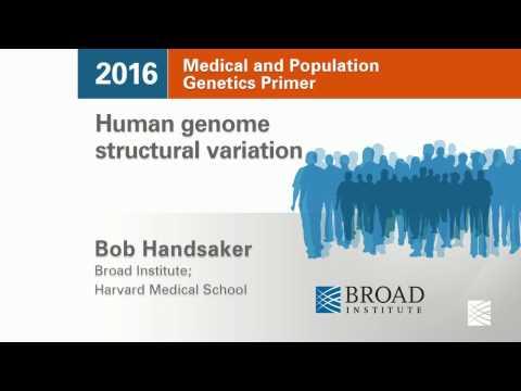 MPG Primer: Human genome structural variation (2016)