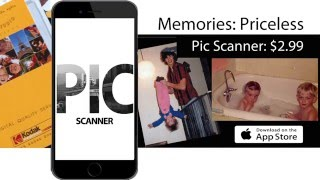 App for scanning photos with iPhone, iPad