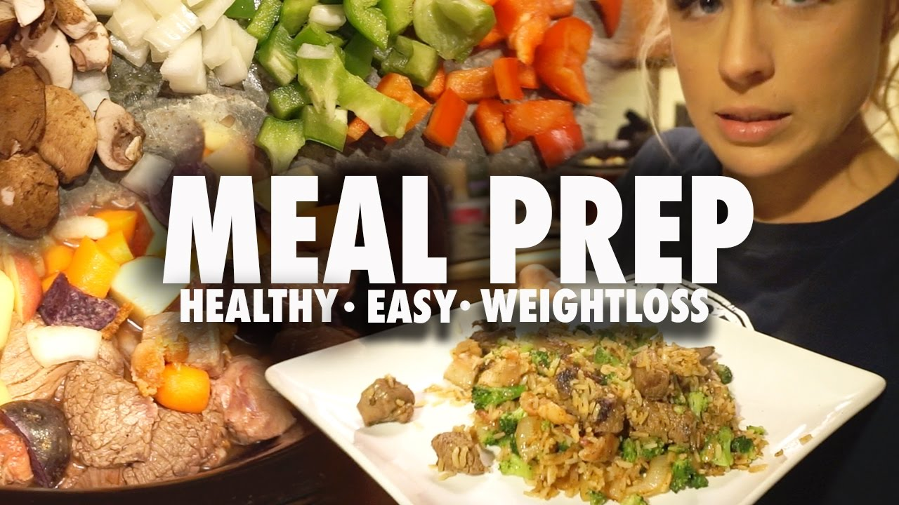 Easy healthy meal prep recipes youtube easy healthy meal prep recipes forumfinder Choice Image