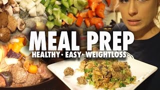 Easy & Healthy Meal Prep Recipes