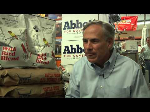 Interview with Greg Abbott after Longview speech