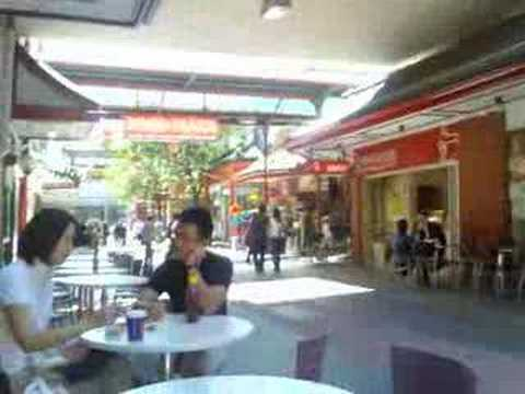 Monday late breakfast in Adelaide China Town