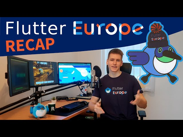 Flutter Europe 2020 - Recap of the BIGGEST Flutter Conference to Date