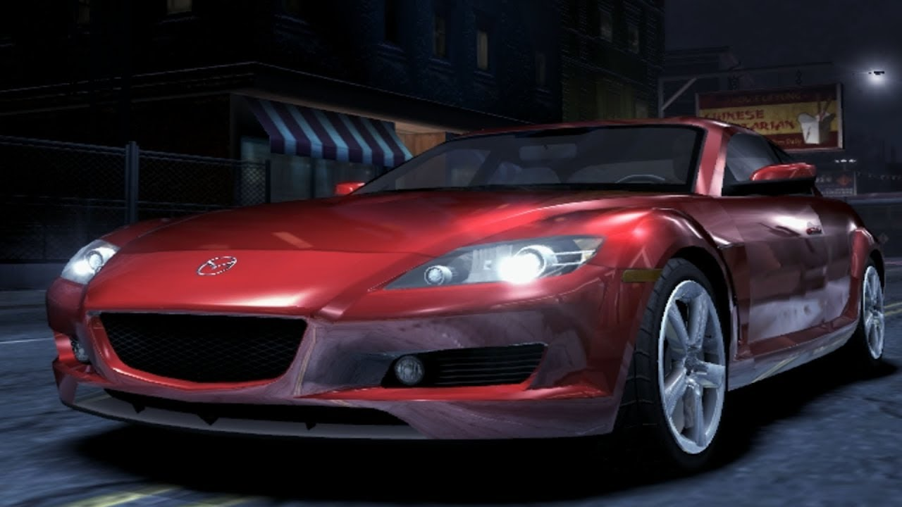 Need For Speed: Carbon - Mazda RX-8 - Test Drive Gameplay ...