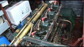 Kelvin K4 four cylinder engine