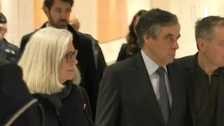 Former French Pm Arrives In Court With Wife Penelope At Start Of Fraud Trial | Afp