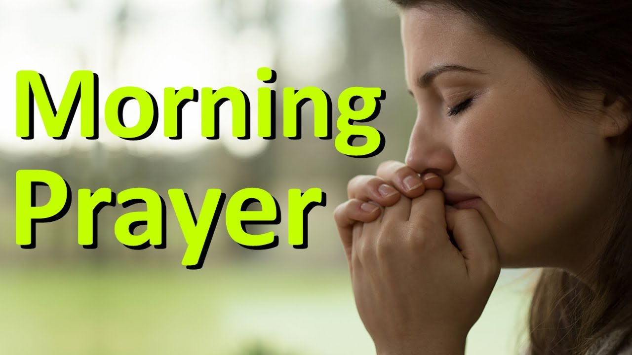 DON'T BE DISCOURAGED BECAUSE OF EVIL PEOPLE - PSALMS 37 - MORNING PRAYER
