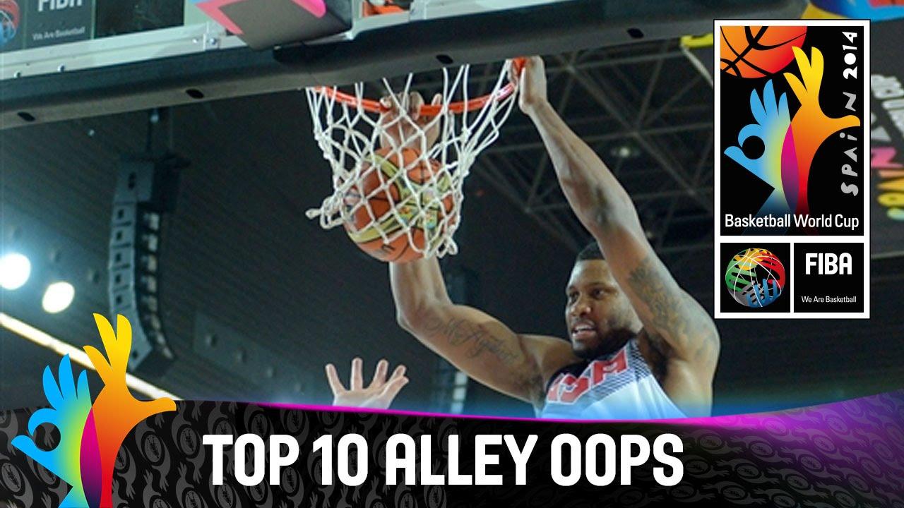 Top 10 Alley Oops - 2014 FIBA Basketball World Cup