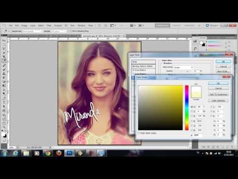 Resimlere Instagram Efekti Vermek - Ders 2 (Sende Photoshop Öğren)