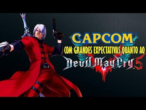 Capcom Tem Grandes Expectativas Para Devil May Cry 5!