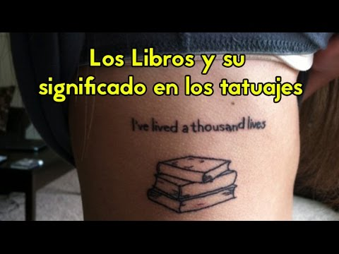 Tatuajes De Libros Youtube