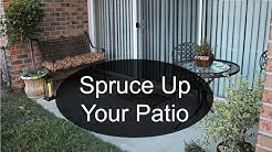 How to Spruce Up Your Patio | Lifestyle VLOG