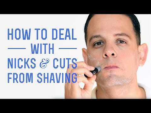 How To Prevent Nicks & Cuts When Shaving With A Safety, DE or Cartridge Razor & How To Treat Them