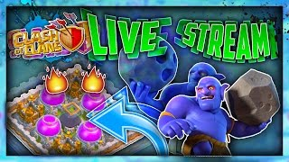 CLASH OF CLANS TH11 PUSHING!! LIVESTREAM!!