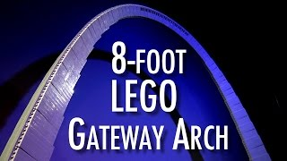 LEGO Gateway Arch | Museum of Science and Industry