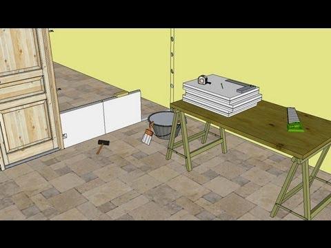 comment monter une cloison en plaques de pl tre soi m m doovi. Black Bedroom Furniture Sets. Home Design Ideas