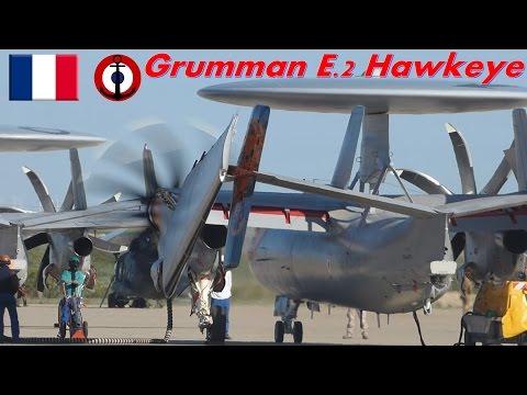 Grumman E.2 Hawkeye ENGINE TEST Full-HD.