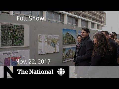 The National for Wednesday November 22, 2017 - Housing, Lebanon, CSIS