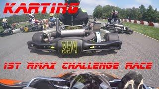 Karting: 1st Northeast Rotax Max Challenge Race