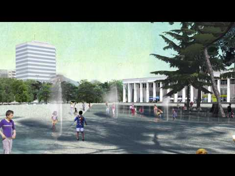51N4E and Anri Sala: Winning proposal for the redesign of Skanderbeg Square, Tirana, Albania. 2008.