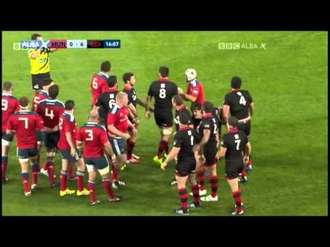 Edinburgh see scrum dominance not get fully rewarded vs Munster 2014