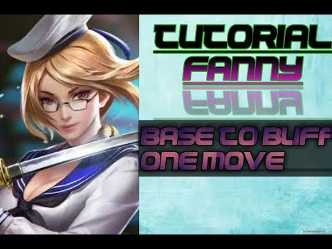 Tutorial 4 Cables Base to Buff One Move | Mobile Legends