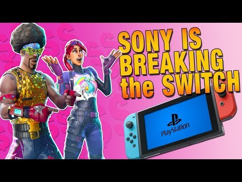 Sony Locking Switch Fortnite Accounts JUST For Playing On PS4. Epic Needs To Speak Up!