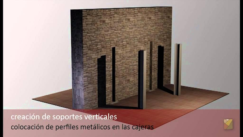 Apertura de huecos en muros - YouTube