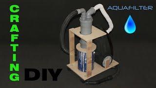 dIY. Аквафильтр для пылесоса в домашнюю мастерскую. Aqua-filter for home workshop