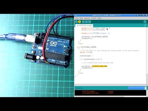 Arduino + GSM (HTTP GET requests)