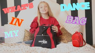 WHAT'S IN MY DANCE BAG?! // Pressley Hosbach