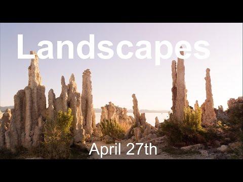 Chelsea & Tony LIVE: Landscapes!