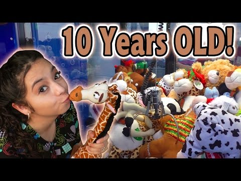 Saving a Plush Trapped for 10 YEARS!! - Claw Machine Wins