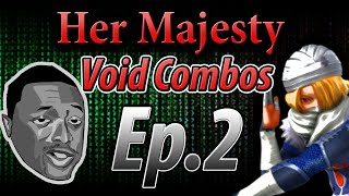 Her Majesty ( Sheik Combo Tutorial) Ep. 2: Void Combos ( Needle Combos)