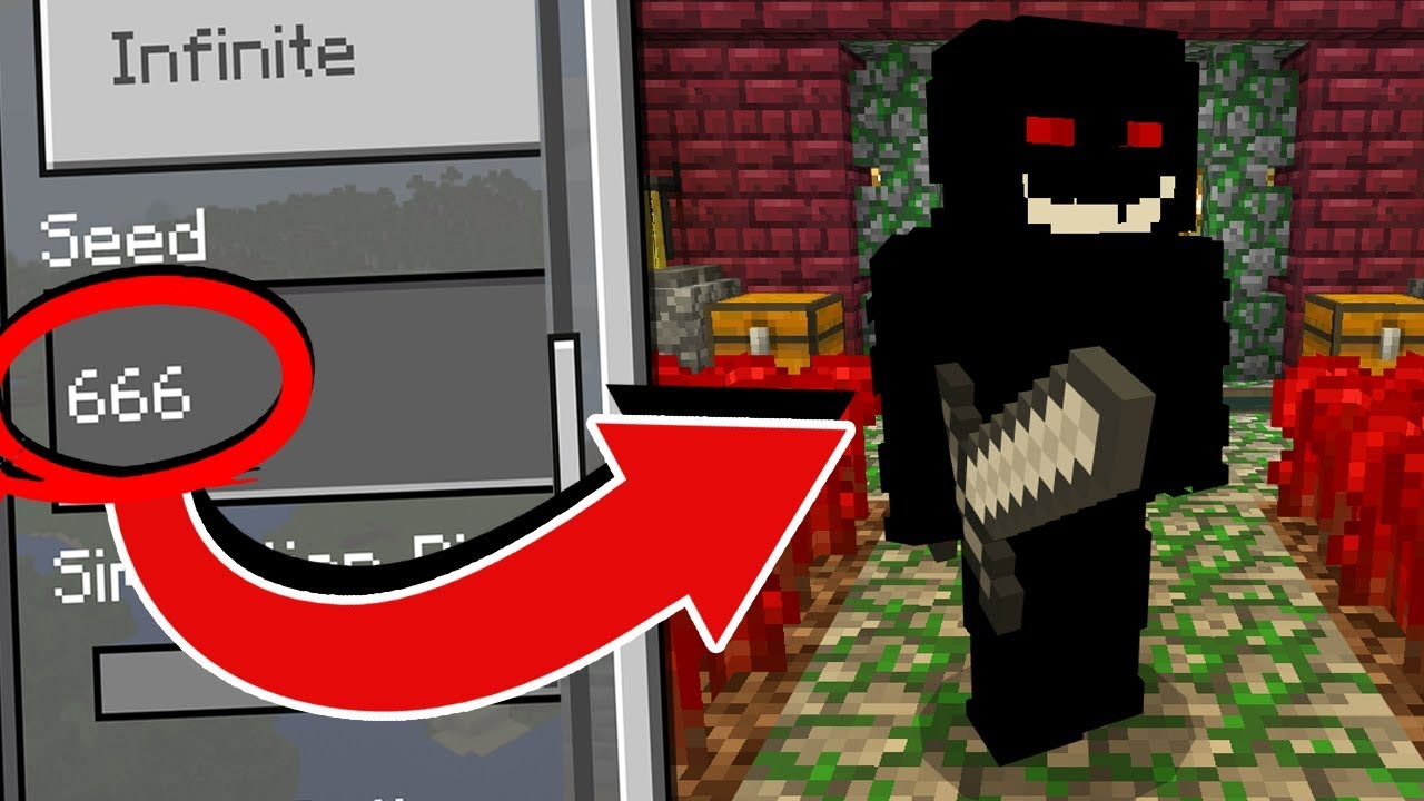 What S On The Seed 666 In Minecraft Pocket Edition