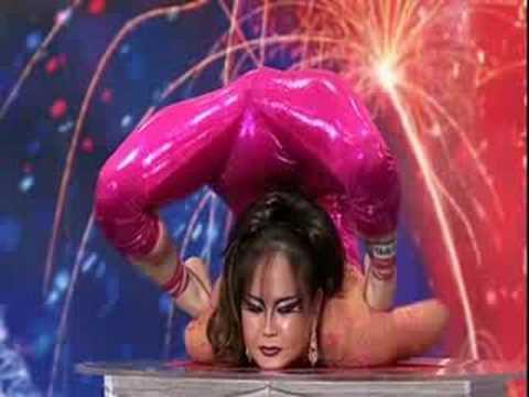 Iona Luvsandorj (contortionist)--Britain