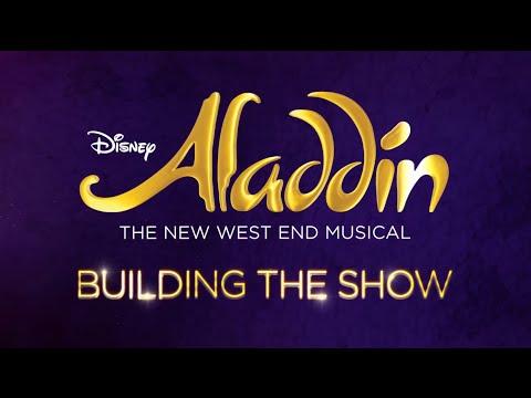 ALADDIN London - Building the show
