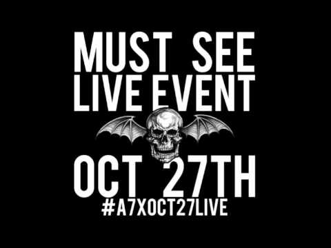 AVENGED SEVENFOLD to perform a 3D 360-degree live stream virtual reality show Oct 27th!