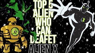 Top 5 Alien Of Ben 10 Who Can Defeat Alien X