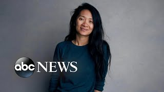 Chloe Zhao wins top Directors Guild Award
