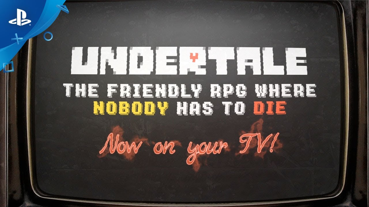 UNDERTALE - PS4, PS Vita Announce Trailer | E3 2017