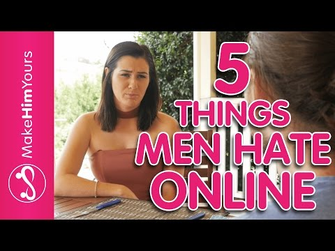 Women's Online Dating Profile Tips: 5 Things That Men HATE Online