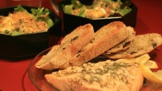 San Fran's Warm Goat Cheese Salad & Chicago's Foil Baked Salmon