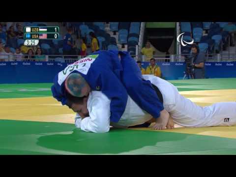 Judo | Uzbekistan v USA |  Men's +100 kg Preliminary Round of 16 | Rio 2016 Paralympic Games