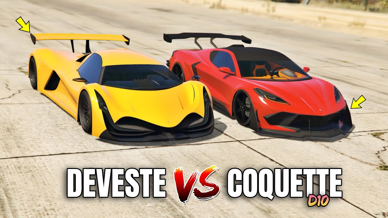 GTA 5 Online: COQUETTE D10 VS DEVESTE EIGHT (WHICH IS FASTEST?)