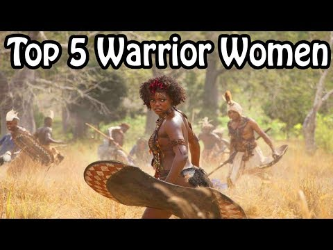 Top 5 Black Warrior-Women of History (African History Explained)