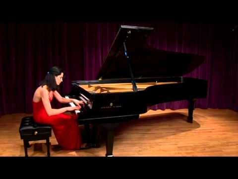 Katie Mahan Liszt Trois Etudes de Concert No 2: La Leggierezza